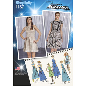 Simplicity Pattern 1157 Misses' Dresses Project Runway Collection
