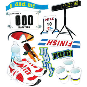 Marathon Runner Stickers_SPJB798