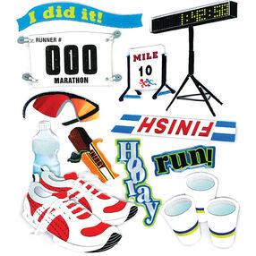 Marathon Runner Stickers_SPJB798