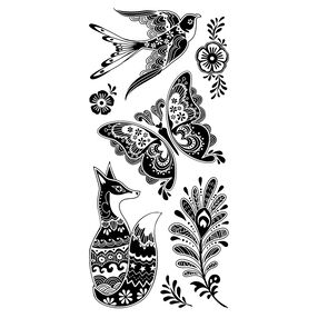 Fancy Fauna Clear Stamps_60-31258
