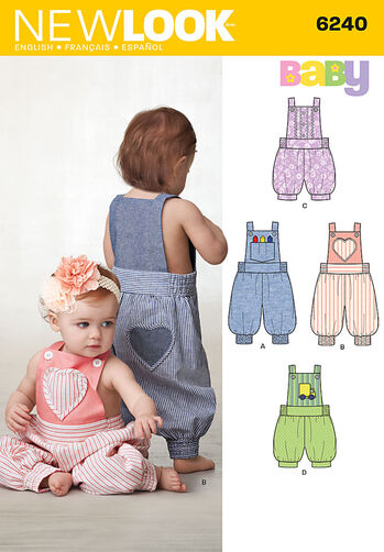 Babies' Overalls In Two Lengths
