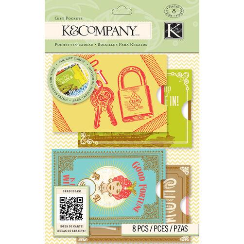 K&Company Beyond Postmarks Gift Pockets_30-657991