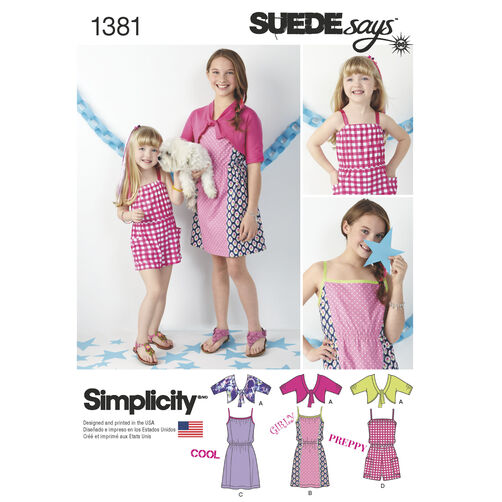 Child's & Girls' Dress, Romper & Cardigan SUEDEsays