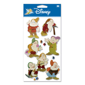 Snow White - Seven Dwarves Dimensional Stickers_DJBCM18