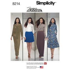 Simplicity Pattern 8214 Misses' Dresses and Jumpsuits