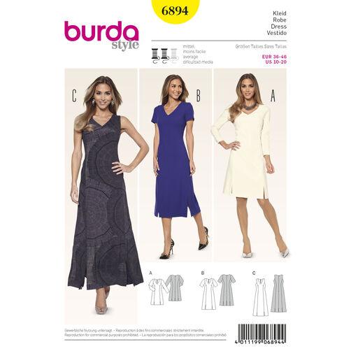 Burda Style Pattern 6894 Dresses
