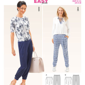 Burda Style Pattern 6665 Misses' Pants