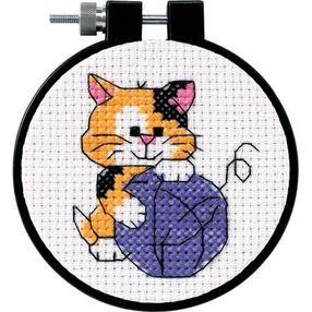 Cute Kitty, Counted Cross Stitch_73038