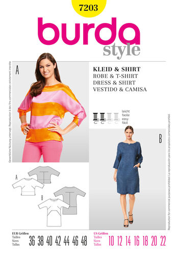 Burda Style Dress & T-Shirt