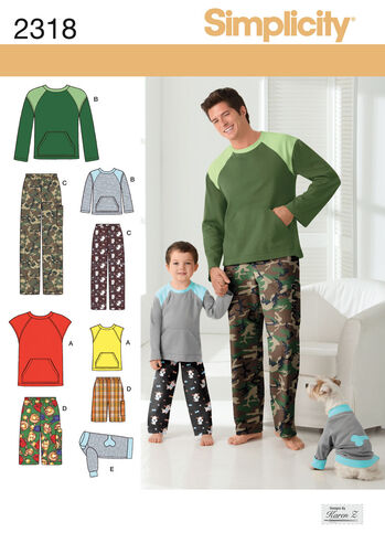 Boys' & Men's Loungewear & Dog Top