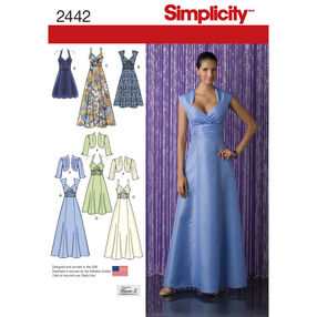 Simplicity Pattern 2442 Special Occasion