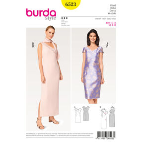 Burda Style Pattern B6523 Misses' One-Shoulder Dress