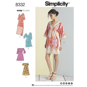 Simplicity Pattern 8332 Misses' Dresses