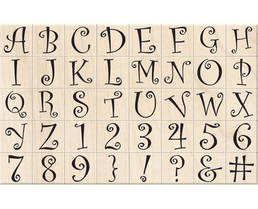 Curly Q Alphabet_60-10001