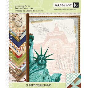 Tim Coffey Travel 8.5x11 Designer Paper Pad_30-681811