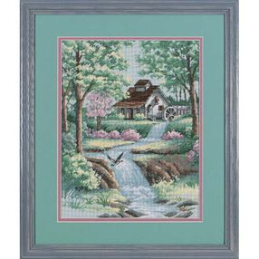 Peaceful Stream, Counted Cross Stitch_35027