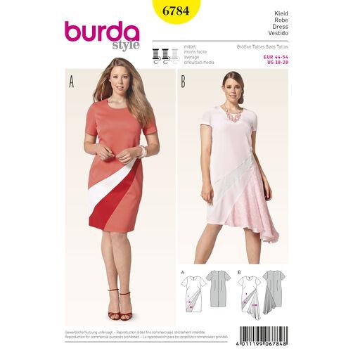 Burda Style Pattern 6784 Plus to size 60 (34)