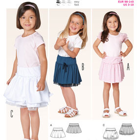 Burda Style Pattern 9413 Toddlers