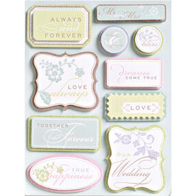 Wedding Tags Grand Adhesions_547285