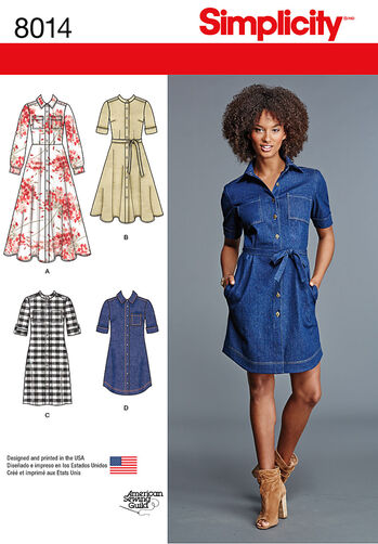 Misses' Shirt Dress