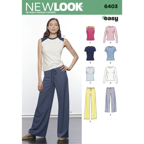 New Look Pattern 6403 Misses' Easy Separates