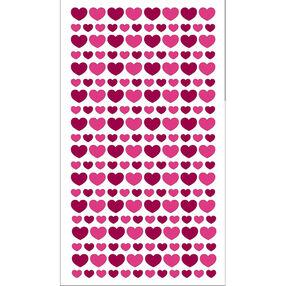 Glitter Hearts Stickers _52-00412