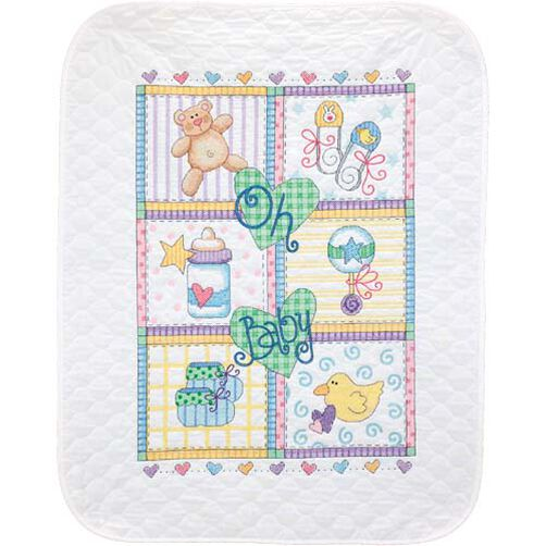 Baby Squares Quilt_73103