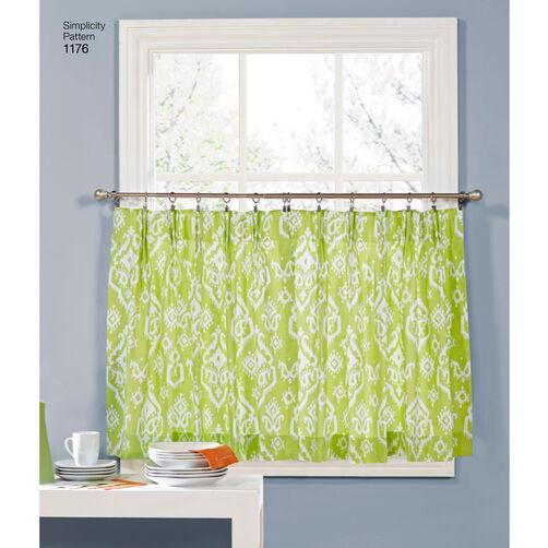 pattern for window treatments