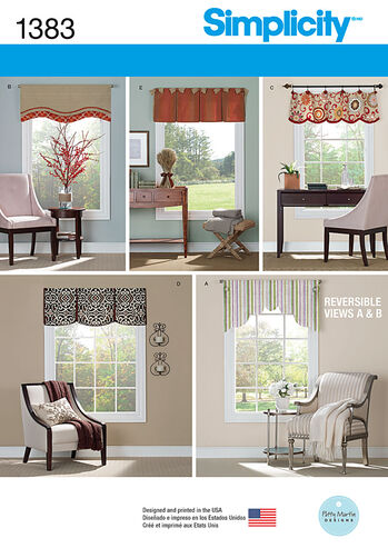 "Valances for 36"" to 40"" Wide Windows"