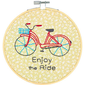 Bike Ride, Embroidery_72-74688