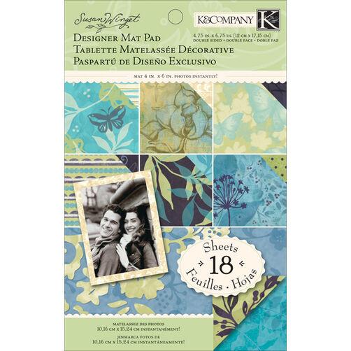 Susan Winget Botanical Designer Mat Pad_30-614512