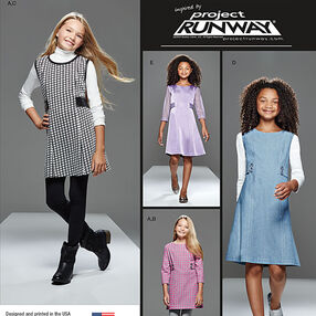 Girls' and Girls' Plus Project Runway Dress or Jumper