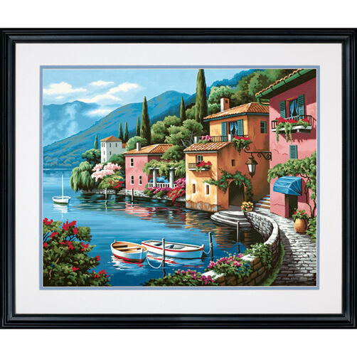 Lakeside Village, Paint by Number_73-91425