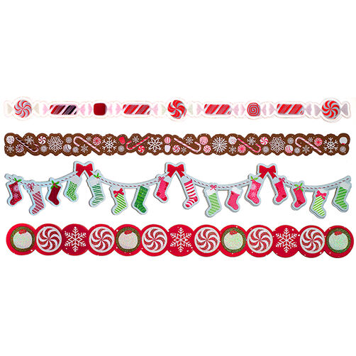 Peppermint Winter Adhesive Die-Cut Borders_48-30230