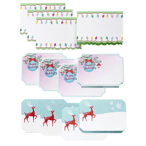 Merry & Bright Tent Cards_48-30287