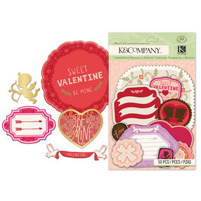 Cupid Die-cut Cardstock & Acetate_30-669420