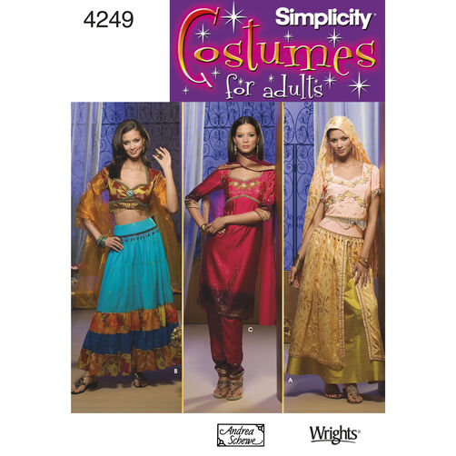 Simplicity Pattern 4249 Misses' Costumes