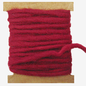 Red Wool Pencil Roving, Needle Felting_72-74008