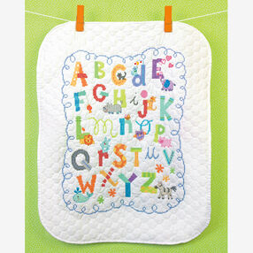 Alphabet Quilt, Stamped Cross Stitch_70-73696