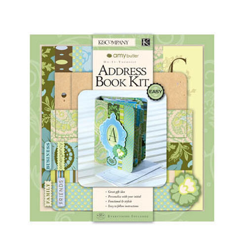 Amy Butler Address Book Paper Crafting Kit_230231