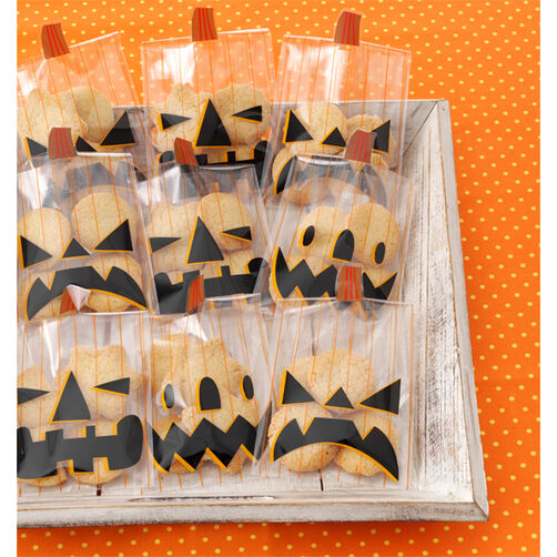 Animal Masquerade Jack-o'-Lantern Treat Bags_48-20245