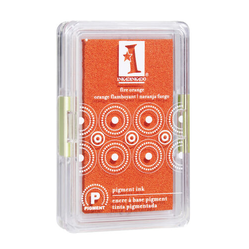 Pigment Ink Pad-Fire Orange _61-30057