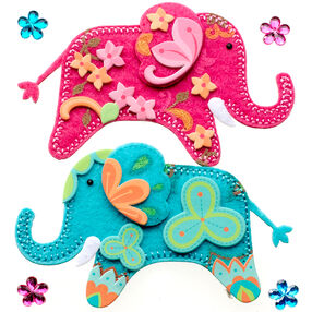 Stitched Elephants Stickers_50-21289