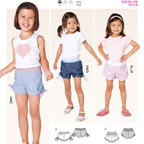 Burda Style Pattern 9414 Toddlers
