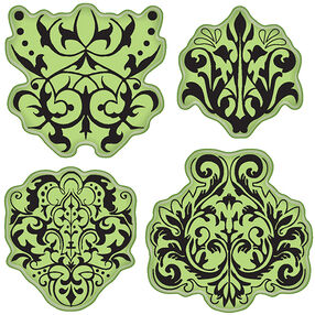 Damask Cling Stamps_65-32055