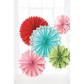 Modern Festive Hanging Paper Flowers_44-20006