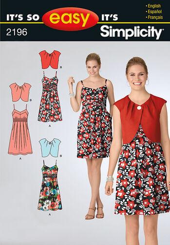 It's So Easy Misses' Dresses