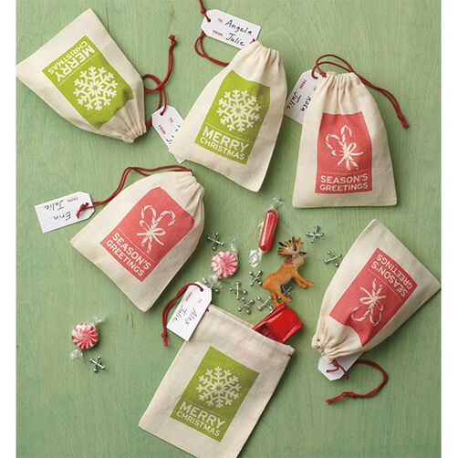 Peppermint Winter Fabric Treat Bags_48-30265
