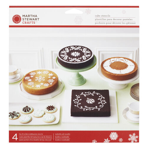 Holiday Cake Stencils _48-30107