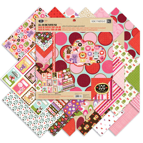 Ka-Zoo 12x12 All-In-One Paper Pad_30-387973
